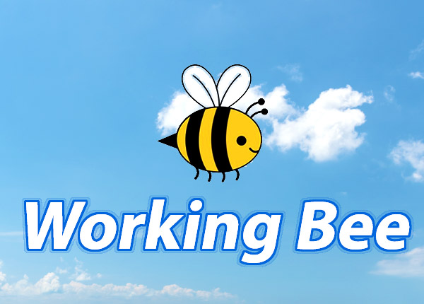 Working Bee – Sunday 27th October