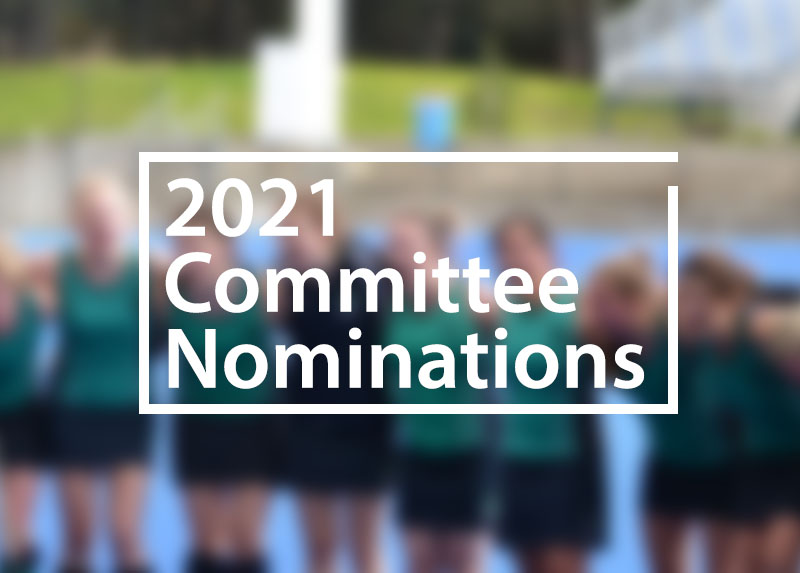 2021 COMMITTEE NOMINATIONS