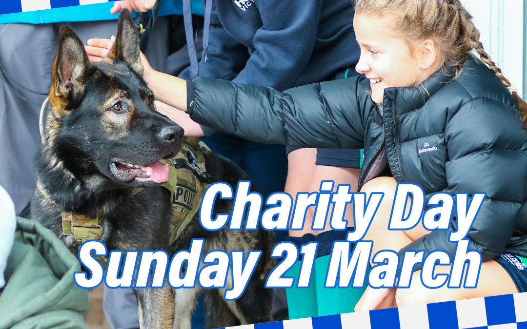 Blue Ribbon Charity Day Sunday 21 March
