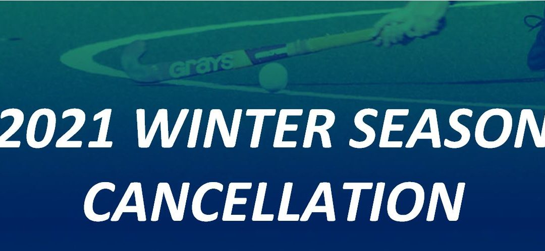 2021 Winter season cancellation